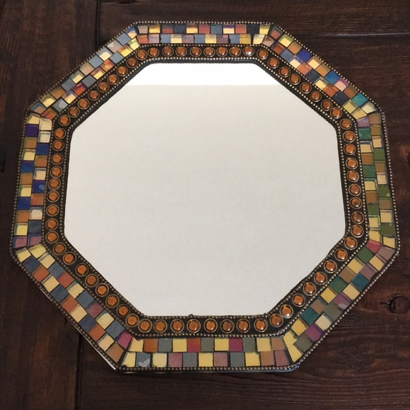 Partylite Other | Global Mosaic Mirror | Poshmark